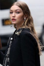 Gigi Hadid on The Set of a Photoshoot in New York 2018/05/31 2