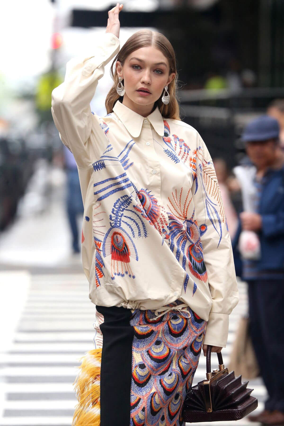 Gigi Hadid on The Set of a Photoshoot in New York 2018/05/31 24