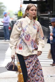 Gigi Hadid on The Set of a Photoshoot in New York 2018/05/31 25