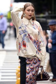 Gigi Hadid on The Set of a Photoshoot in New York 2018/05/31 27