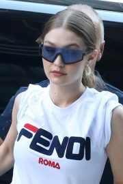 Gigi Hadid Out and About in New York 2018/05/30 11