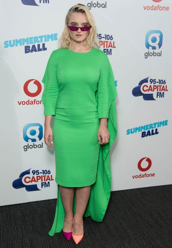 Grace Chatto at Capital Radio Summertime Ball 2018 in London 2018/06/09 11