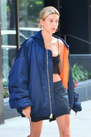 Hailey Baldwin Out in New York 2018/06/22 7