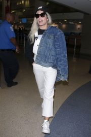 Halsey at LAX Airport in Los Angeles 2018/06/21 2