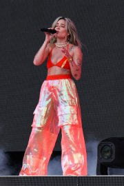 Halsey Performs at 2018 Governors Ball Music Festival in Randall's Island 2018/06/02 2