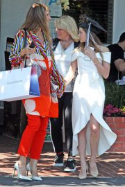 Heidi Klum and Daughter Leni out for Graduation Celebration Lunch in West Hollywood 2018/06/08 5