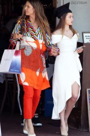 Heidi Klum and Daughter Leni out for Graduation Celebration Lunch in West Hollywood 2018/06/08 6
