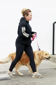 Hilary Duff Out with Her Dog in Studio City 2018/05/31 3