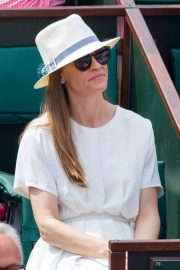Hilary Swank at 2018 French Open Tennis Tournament at Roland Garros 2018/06/09 1