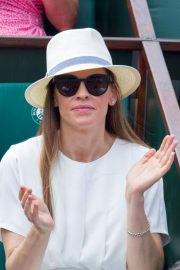 Hilary Swank at 2018 French Open Tennis Tournament at Roland Garros 2018/06/09 3