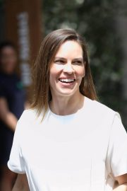 Hilary Swank at 2018 French Open Tennis Tournament at Roland Garros 2018/06/09 4