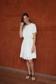 Hilary Swank at 2018 French Open Tennis Tournament at Roland Garros 2018/06/09 6