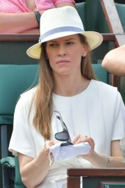 Hilary Swank at 2018 French Open Tennis Tournament at Roland Garros 2018/06/09 7