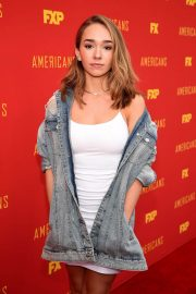 Holly Taylor at The Americans FYC Event in Hollywood 2018/05/30 2