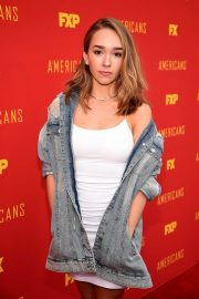Holly Taylor at The Americans FYC Event in Hollywood 2018/05/30 6