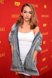 Holly Taylor at The Americans FYC Event in Hollywood 2018/05/30 7