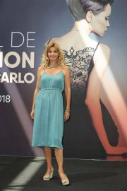 Ingrid Chauvin at Demain Nous Appartient Photocall at 58th Monte Carlo TV Festival 2018/06/16 5