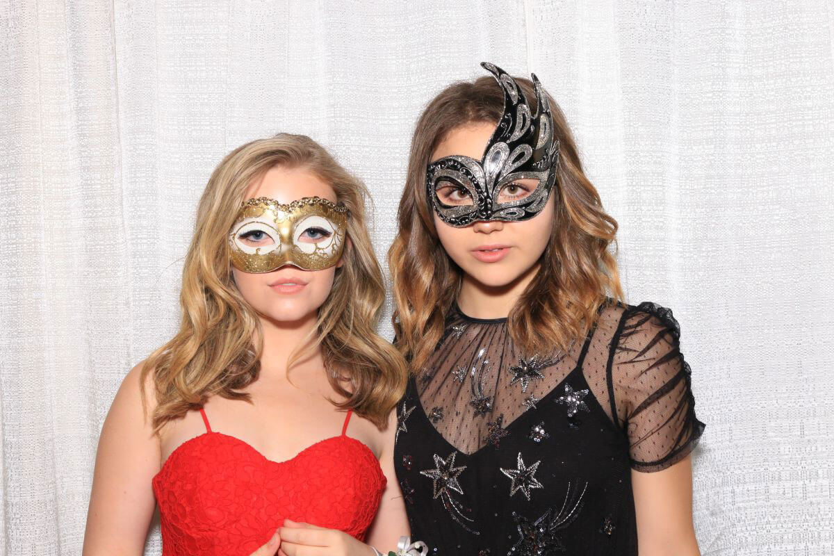 Isabella Acres and Jade Pettyjohn at Prom Photo Booth, May 2018 Photos 1