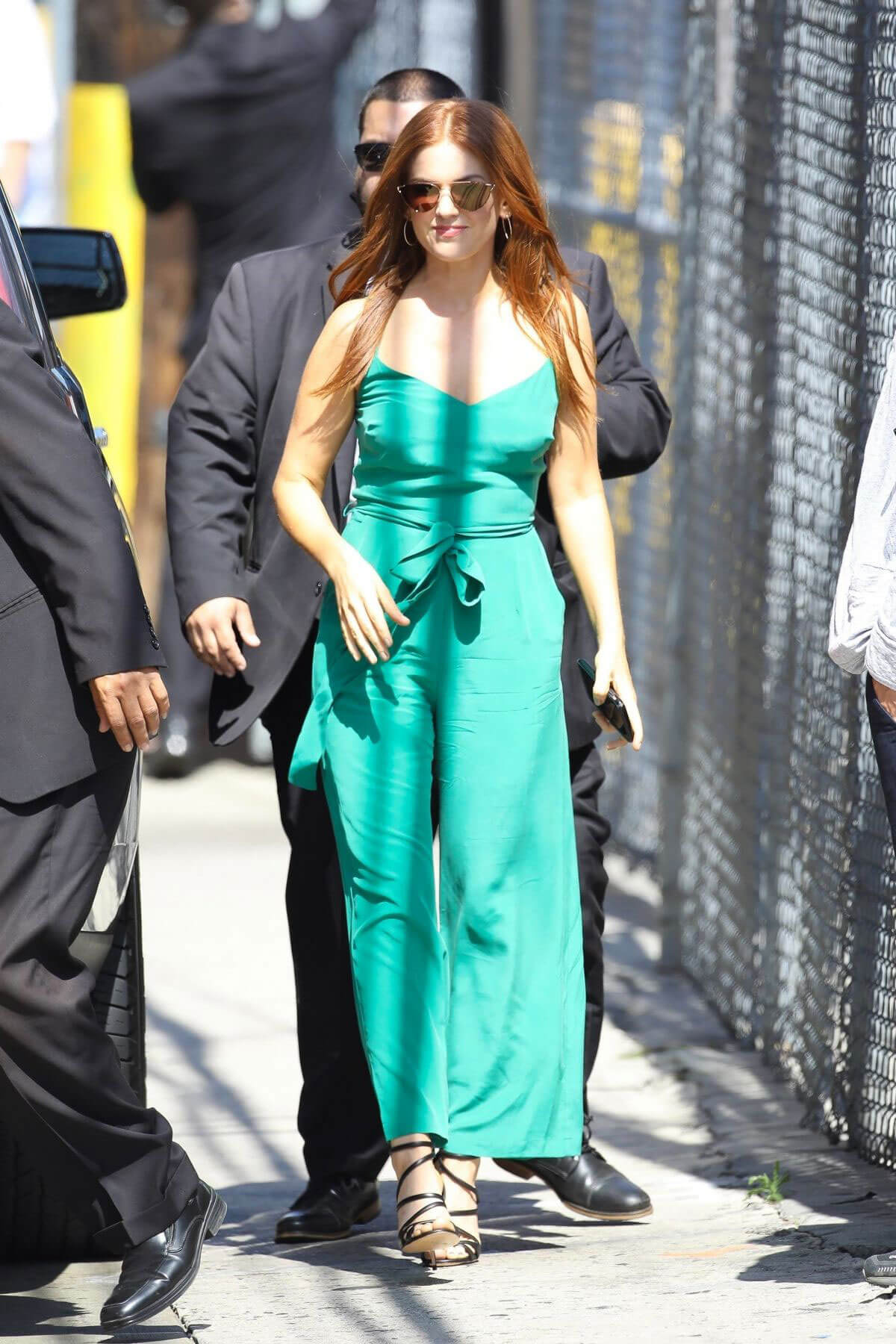 Isla Fisher at Jimmy Kimmel Live in Hollywood 2018/06/06 3