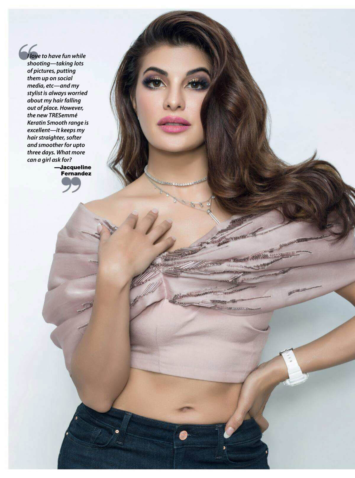 Jacqueline Fernandez in Cosmopolitan Magazine, India June 2018 Issue 1