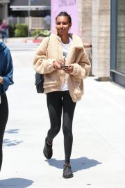 Jasmine Tookes at Urth Caffe in West Hollywood 2018/06/07 2