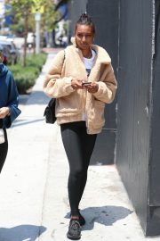 Jasmine Tookes at Urth Caffe in West Hollywood 2018/06/07 5