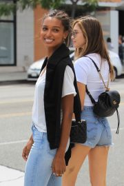 Jasmine Tookes Out in Beverly Hills 2018/06/04 11