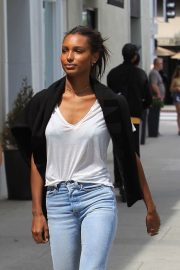 Jasmine Tookes Out in Beverly Hills 2018/06/04 12