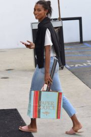 Jasmine Tookes Out in Beverly Hills 2018/06/04 13