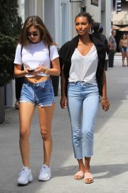 Jasmine Tookes Out in Beverly Hills 2018/06/04 16