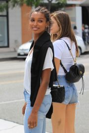 Jasmine Tookes Out in Beverly Hills 2018/06/04 18