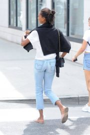 Jasmine Tookes Out in Beverly Hills 2018/06/04 21