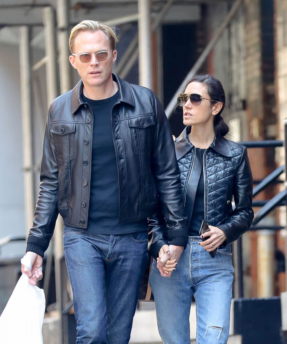 Jennifer Connelly and Paul Bettany Out in New York 2018/06/07 1