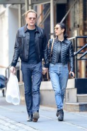 Jennifer Connelly and Paul Bettany Out in New York 2018/06/07 2