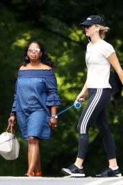 Jennifer Lawrence Out wih Her Dog in Central Park in New York 2018/06/10 6