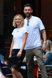 Jennifer Lawrence Stills and Cooke Maroney Out in New York 2018/06/21 3