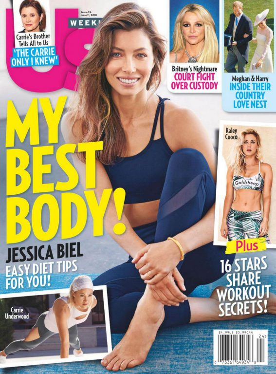 Jessica Biel in US Weekly, June 2018 Issue 2