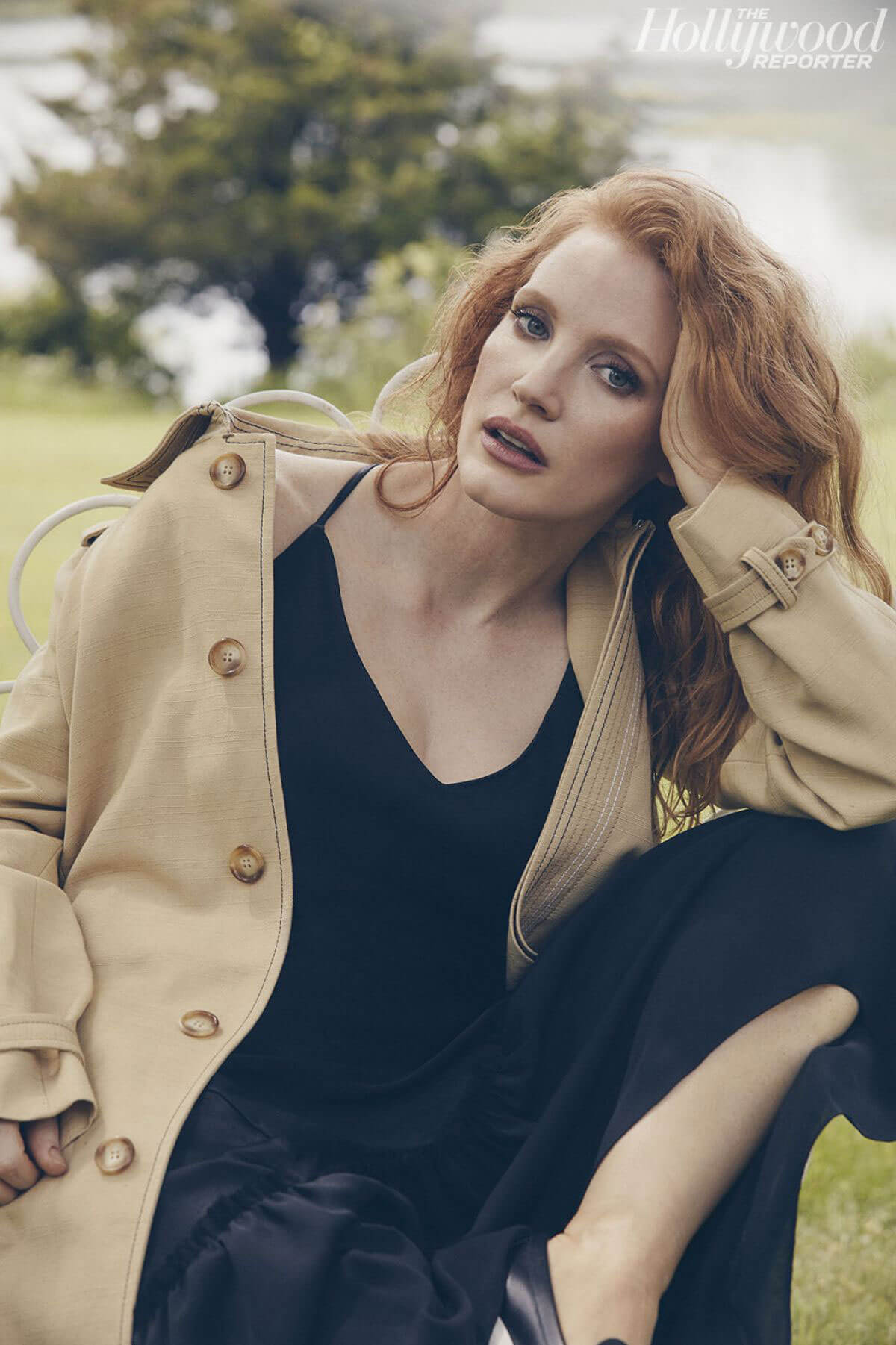 Jessica Chastain in The Hollywood Reporter, June 2018 Issue 3