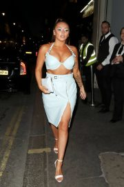 Jesy Nelson Arrives at Her Surprise Birthday Party in London 2018/06/21 9