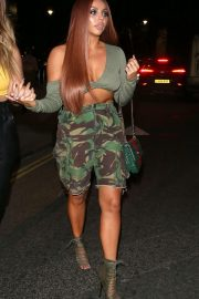 Jesy Nelson Leaves Cantina Laredo in Covent Garden 2018/06/03 8