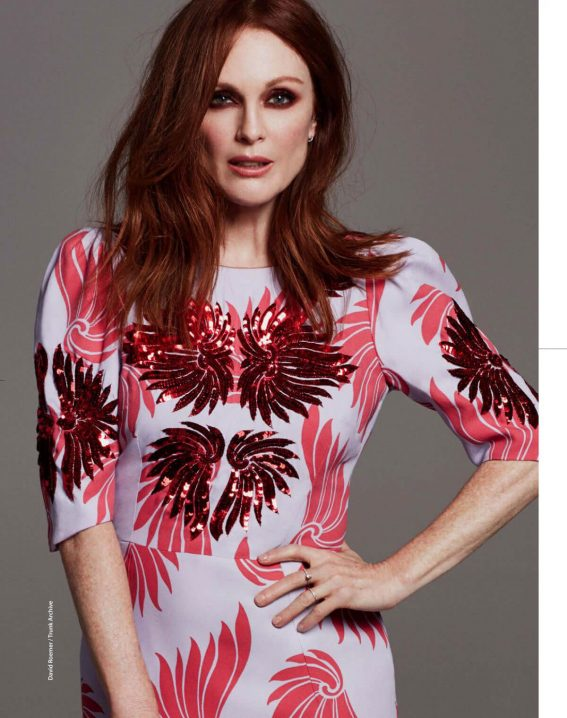 JULIANNE MOORE in F magazine, April 2018 Issue 1