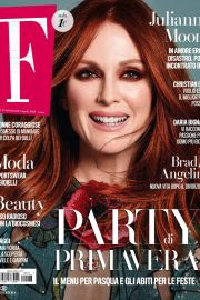 JULIANNE MOORE in F magazine, April 2018 Issue 2
