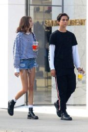 Kaia Gerber and Travis Jackson Out in Los Angeles 2018/06/21 1