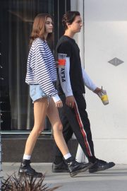 Kaia Gerber and Travis Jackson Out in Los Angeles 2018/06/21 2