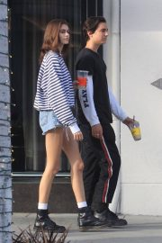 Kaia Gerber and Travis Jackson Out in Los Angeles 2018/06/21 5