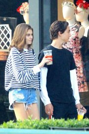 Kaia Gerber and Travis Jackson Out in Los Angeles 2018/06/21 10