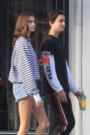 Kaia Gerber and Travis Jackson Out in Los Angeles 2018/06/21 11