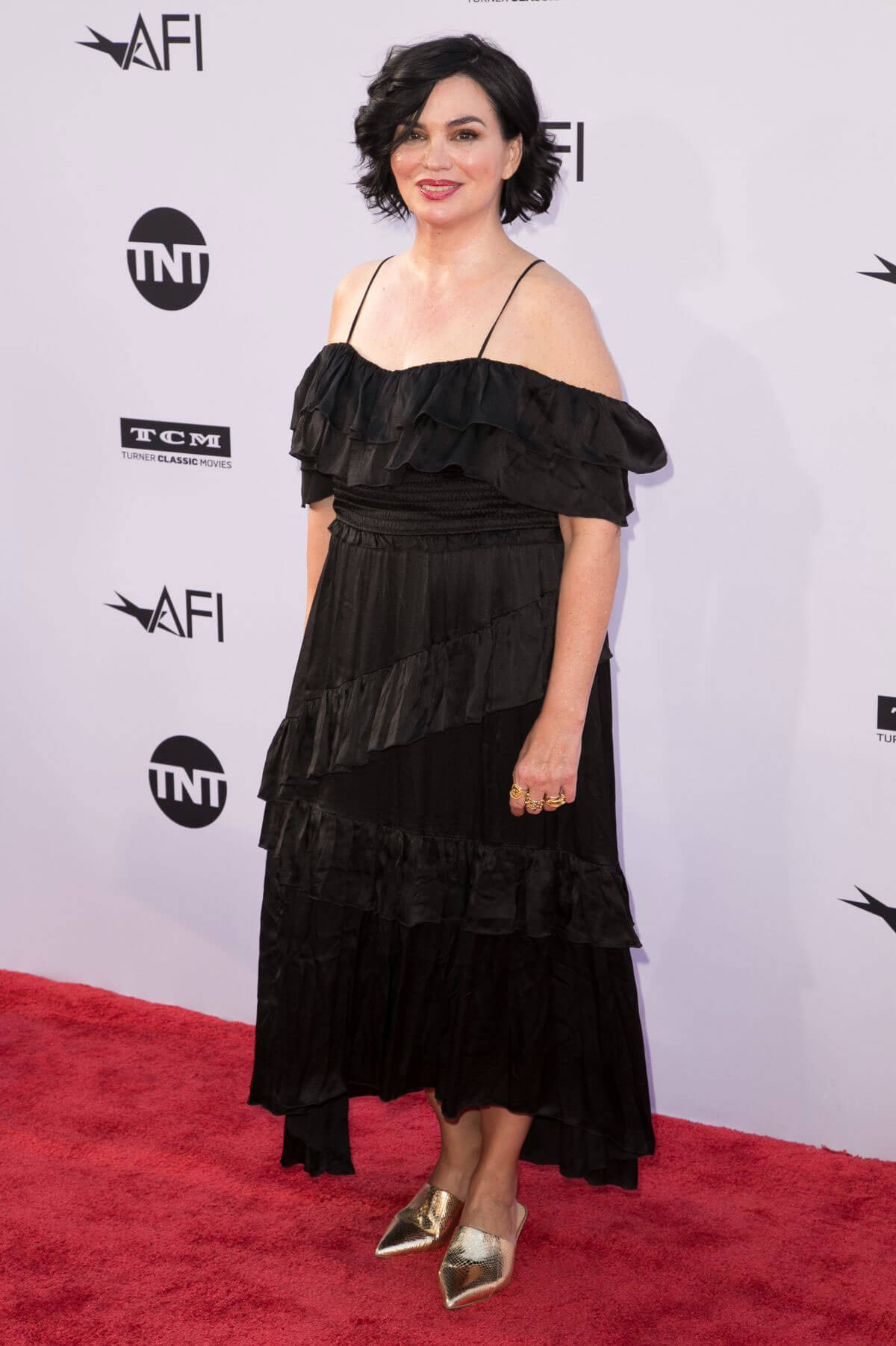 Karen Duffy at American Film Institute's 46th Life Achievement Award Gala Tribute to George Clooney in Hollywood 2018/06/07 1