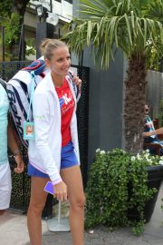 Karolina Pliskova Arrives at Roland Garros in Paris 2018/05/30 1