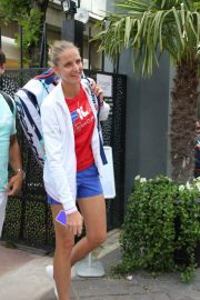 Karolina Pliskova Arrives at Roland Garros in Paris 2018/05/30 2